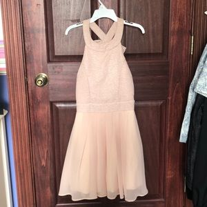 Pink Sparkle dress from Trixxi (bought at Macy's)